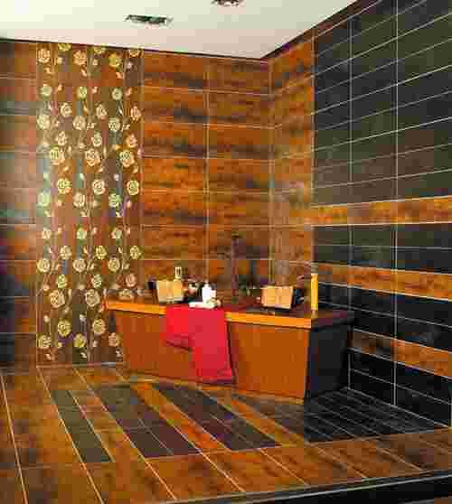 欧式复古砖展厅图片